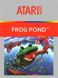 Box cover for Frog Bog on the Atari 2600.