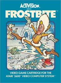 Box cover for Frostbite on the Atari 2600.