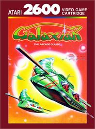 Box cover for Galaxian on the Atari 2600.