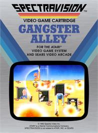 Box cover for Gangster Alley on the Atari 2600.