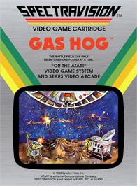 Box cover for Gas Hog on the Atari 2600.