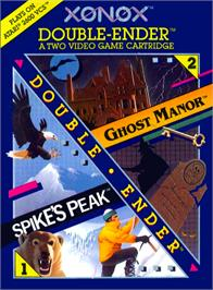 Box cover for Ghost Manor on the Atari 2600.