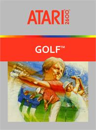 Box cover for Golf on the Atari 2600.