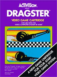 Box cover for Gravitar on the Atari 2600.