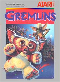 Box cover for Gremlins on the Atari 2600.