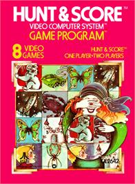 Box cover for Hunt & Score on the Atari 2600.