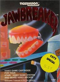 Box cover for JawBreaker on the Atari 2600.