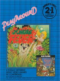 Box cover for Jungle Fever/Knight on the Town on the Atari 2600.