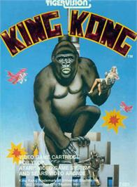 Box cover for King Kong on the Atari 2600.