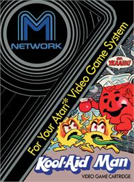 Box cover for Kool-Aid Man on the Atari 2600.
