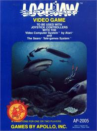 Box cover for Lochjaw on the Atari 2600.