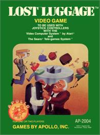 Box cover for Lost Luggage on the Atari 2600.