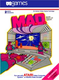 Box cover for M*A*S*H on the Atari 2600.