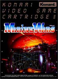 Box cover for Marine Wars on the Atari 2600.