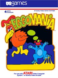 Box cover for Megamania on the Atari 2600.