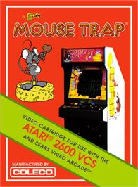 Box cover for Mouse Trap on the Atari 2600.