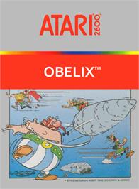 Box cover for Obelix on the Atari 2600.