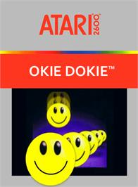 Box cover for Okie Dokie on the Atari 2600.