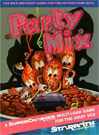 Box cover for Party Mix on the Atari 2600.