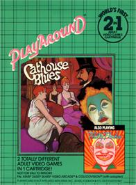 Box cover for Philly Flasher/Cathouse Blues on the Atari 2600.