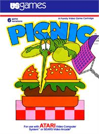 Box cover for Picnic on the Atari 2600.