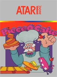 Box cover for Piece o' Cake on the Atari 2600.