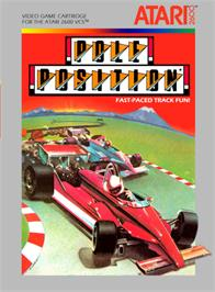 Box cover for Pole Position on the Atari 2600.