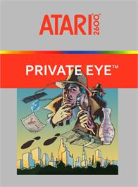 Box cover for Private Eye on the Atari 2600.