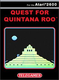 Box cover for Quest for Quintana Roo on the Atari 2600.