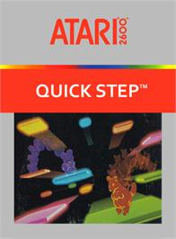 Box cover for Quick Step on the Atari 2600.