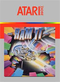Box cover for Ram It on the Atari 2600.