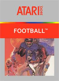 Box cover for RealSports Football on the Atari 2600.