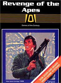 Box cover for Revenge of the Apes on the Atari 2600.