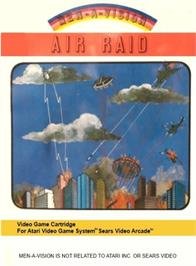 Box cover for River Raid on the Atari 2600.