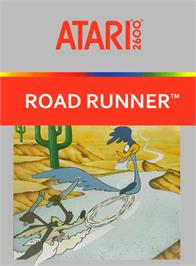 Box cover for Road Runner on the Atari 2600.
