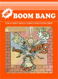 Box cover for Robot Tank on the Atari 2600.