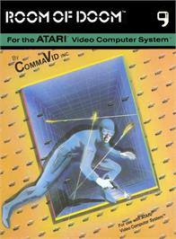 Box cover for Room of Doom on the Atari 2600.