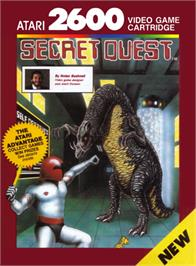 Box cover for Secret Quest on the Atari 2600.