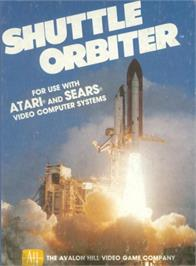 Box cover for Shuttle Orbiter on the Atari 2600.