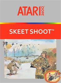 Box cover for Skeet Shoot on the Atari 2600.
