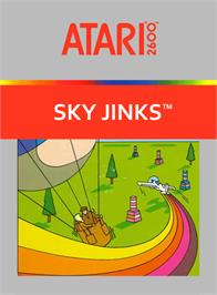 Box cover for Sky Jinks on the Atari 2600.
