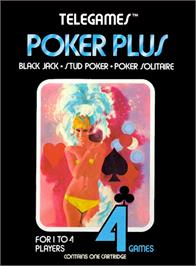 Box cover for Solar Plexus on the Atari 2600.