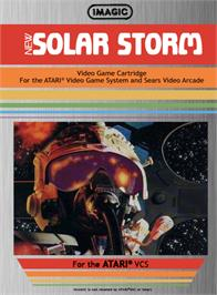 Box cover for Solar Storm on the Atari 2600.