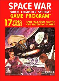 Box cover for SpaceMaster X-7 on the Atari 2600.