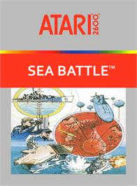 Box cover for Space Battle on the Atari 2600.