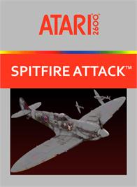 Box cover for Spitfire Attack on the Atari 2600.