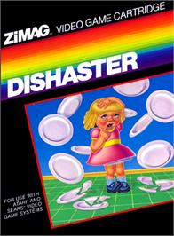 Box cover for Sprintmaster on the Atari 2600.