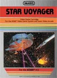 Box cover for Star Voyager on the Atari 2600.