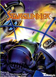 Box cover for Stargunner on the Atari 2600.