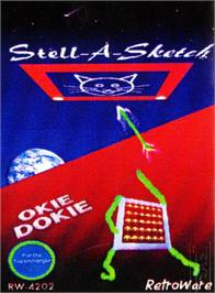 Box cover for Stell-A-Sketch/Okie Dokie on the Atari 2600.